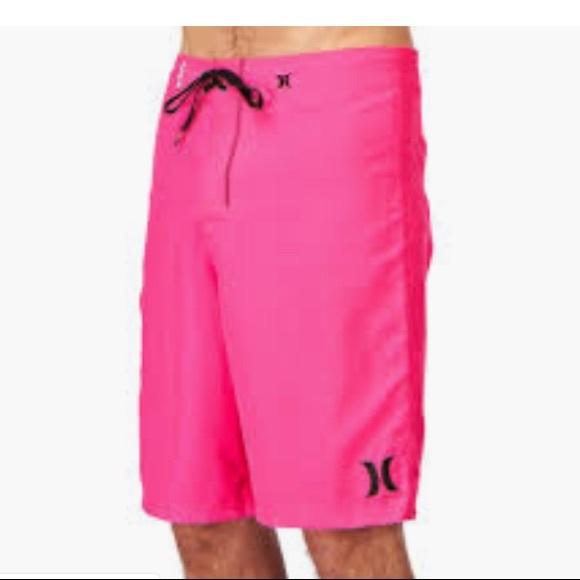 cfee14043b Hurley Swim | One Only Board Shorts Neon Pink | Poshmark